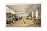 A Ward in the Hospital at Scutari, Engraved by E. Walker, 1856 Giclee Print by William 'Crimea' Simpson