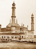Mosque Inside Asophoo Dowlahs Emambara, Lucknow Photographic Print by Felice Beato