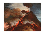 Vesuvius in Eruption, 1772 Giclee Print by Anicet-Charles Lemonnier