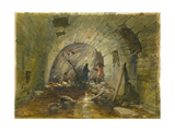 Tunnel under the Via Dolorosa, Jerusalem, 1869 Giclee Print by William 'Crimea' Simpson