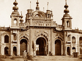 The Great Gate of the Kaiser Bagh, Lucknow, 1858 Photographic Print by Felice Beato
