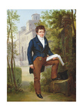 Portrait of Nicolas-Pierre Tiolier, C.1817 Giclee Print by Francois Edouard Picot