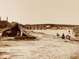 Stone Bridge, Lucknow Photographic Print by Felice Beato