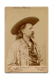 William Frederick Cody, Buffalo Bill (1846-1917), American Soldier and Performer Giclee Print by Eugene Pirou