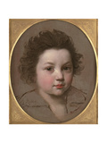 Head Study of a Boy Giclee Print by Charles Le Brun