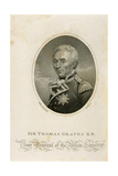 Sir Thomas Graves K.B., Engraved by Ridley Giclee Print by James Northcote