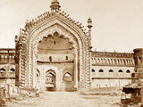 Constantinople Gate, Lucknow Photographic Print by Felice Beato