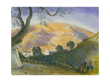 Middle Eastern Landscape Giclee Print by Claude Conder