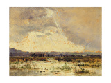 The Marsh in the Souterraine, 1842 Giclee Print by Théodore Rousseau
