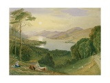 Lake Windermere Giclee Print by Samuel Jackson