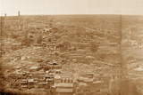 Panorama of Machiboran, Lucknow Photographic Print by Felice Beato