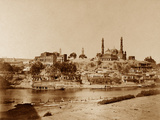 View of the New Battery Taken from the Stone Bridge, Lucknow Photographic Print by Felice Beato