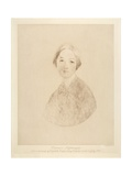 Florence Nightingale, Engraved by Emery Walker, 1846 Giclee Print by Elizabeth Rigby