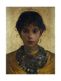 A Capri Witch, 1884-85 Giclee Print by Marianne Stokes