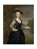 Portrait of a Lady, 1731 Giclée-Druck von John Vanderbanck