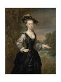 Portrait of a Lady, 1731 Giclee Print by John Vanderbanck