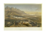 Battle of Buena Vista, 1851 Giclee Print by Carlos Nebel