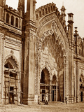 Summa Musjid Gate, Lucknow Photographic Print by Felice Beato
