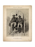 Baggage Train, Illustration from 'Campaign Sketches' Giclee Print by Winslow Homer