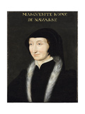 Portrait of Margaret of Navarre Giclee Print by Francois Clouet