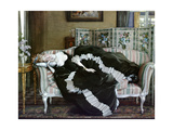 A Sleeping Woman Giclee Print by Konstantin Andreevic Somov