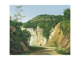 Cremieu, 1847 Giclee Print by Henri-Joseph Harpignies