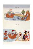 Cap 69 and Cap 71, Illustrations from 'Historia De Las Indias De Nueva Espana Y Islas De Tierra… Giclee Print by Diego Duran