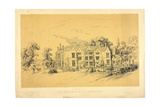 Embley Park, C.1856 Giclee Print by Parthenope Nightingale