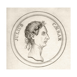 Julius Caesar, from 'Crabb's Historical Dictionary', Published 1825 Giclee Print
