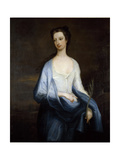 Portrait of Catherine Hoskins, Duchess of Devonshire, C.1718 Giclee Print by Charles Jervas