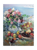 Flowers, Gurzuf Giclee Print by Konstantin Alekseevich Korovin