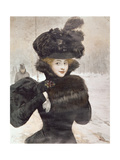 Winter' Giclee Print by Henri Gervex