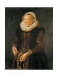Portrait of a Woman, C.1611 Giclee Print by Frans Hals