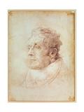 Portrait of J.M.W. Turner Giclée-Druck von Cornelius Varley