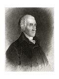 Robert Treat Paine, Engraved by James Barton Longacre (1794-1869) Giclee Print by Edward Savage