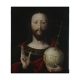Christ with Globe - 'salvator Mundi', Lower Rhine, 1537-45 Giclee Print by German School