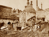 The Mine in the Chutter Munzil Exploded by the Enemy at the First Attack of General Havelock,… Photographic Print by Felice Beato