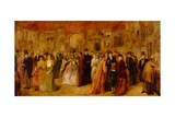 The Private View, 1881 Giclee Print by William Powell Frith