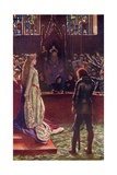 Sir Lanval's Lady Appeals to the Judges, Illustration from 'Romance and Legend of Chivalry' by A.… Giclee Print by Byam Shaw