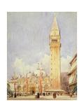 Piazza San Marco, Venice, C.1826 Giclee Print by Richard Parkes Bonington