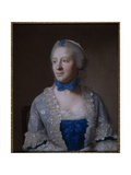 Eva Marie Veigel Giclee Print by Jean-Etienne Liotard