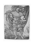 Portrait of a Military Ensign in the Thirty Years' War (1518-1548), 1526 Giclee Print by Barthel Beham