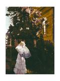Lilacs Giclee Print by Boris Mikhailovich Kustodiev