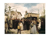 The Glory of the People, 1895 Giclee Print by Antonio Fillol