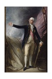 Portrait of George Brydges Rodney, 1st Lord Rodney Giclee Print by Thomas Gainsborough
