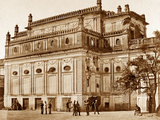 Begum Kotee, Lucknow Photographic Print by Felice Beato