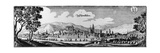 View of the Town of Schmalkalden, 1650 Giclee Print by Matthaus, The Elder Merian