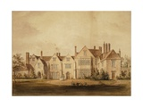 The King's House, Salisbury, 1807 Giclee Print by John Buckler