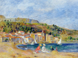 Le Lavandou Impression giclée par Pierre-Auguste Renoir