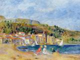 Le Lavandou Giclée-tryk af Pierre-Auguste Renoir